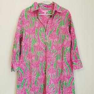 Lily Pulitzer Long Sleeve Slip Top/Dress/Tunic